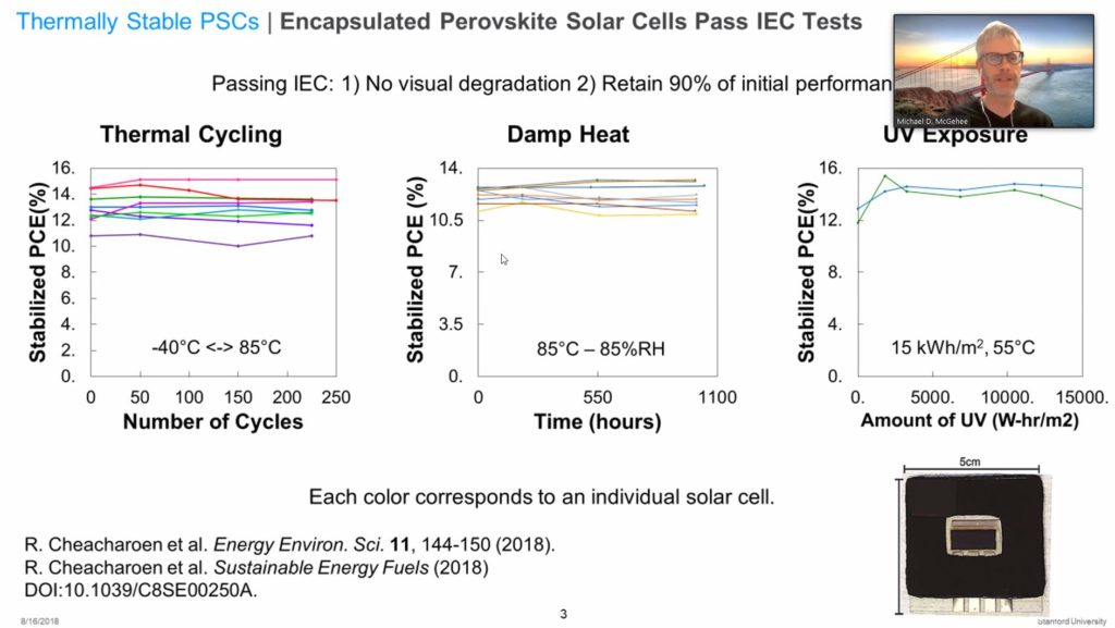 Stability of Perovskite lab cells in common ALT-Tests