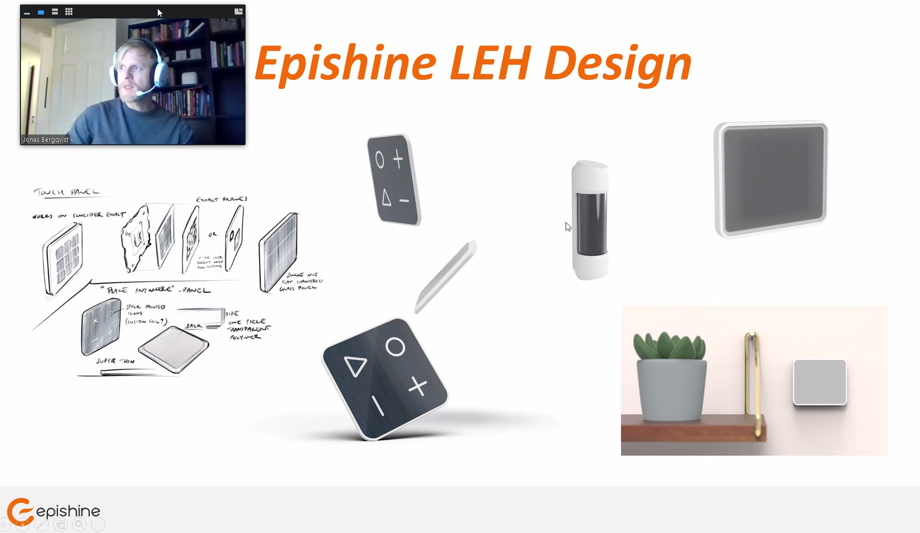Product prototypes bs Epishine