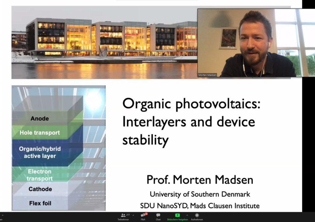 Opening Slide - Prof. Madsen